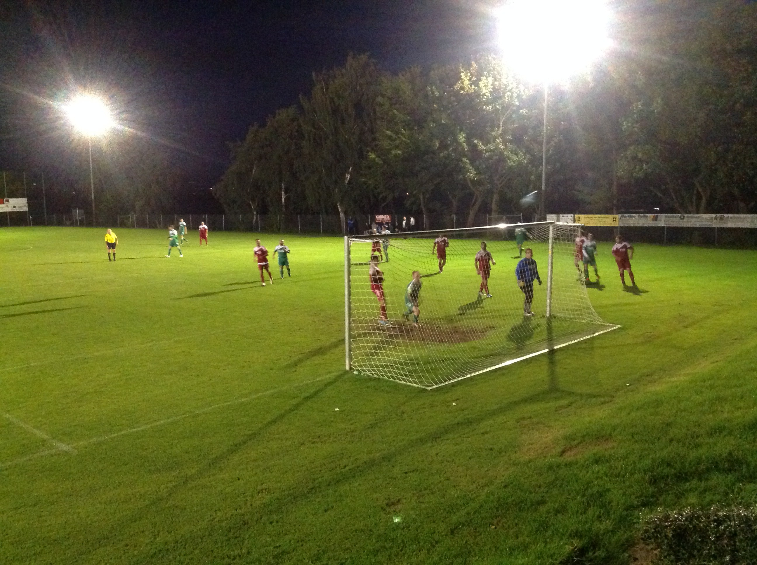 Meisterschaftsspiel gegen Vatanspor Neuwied II
