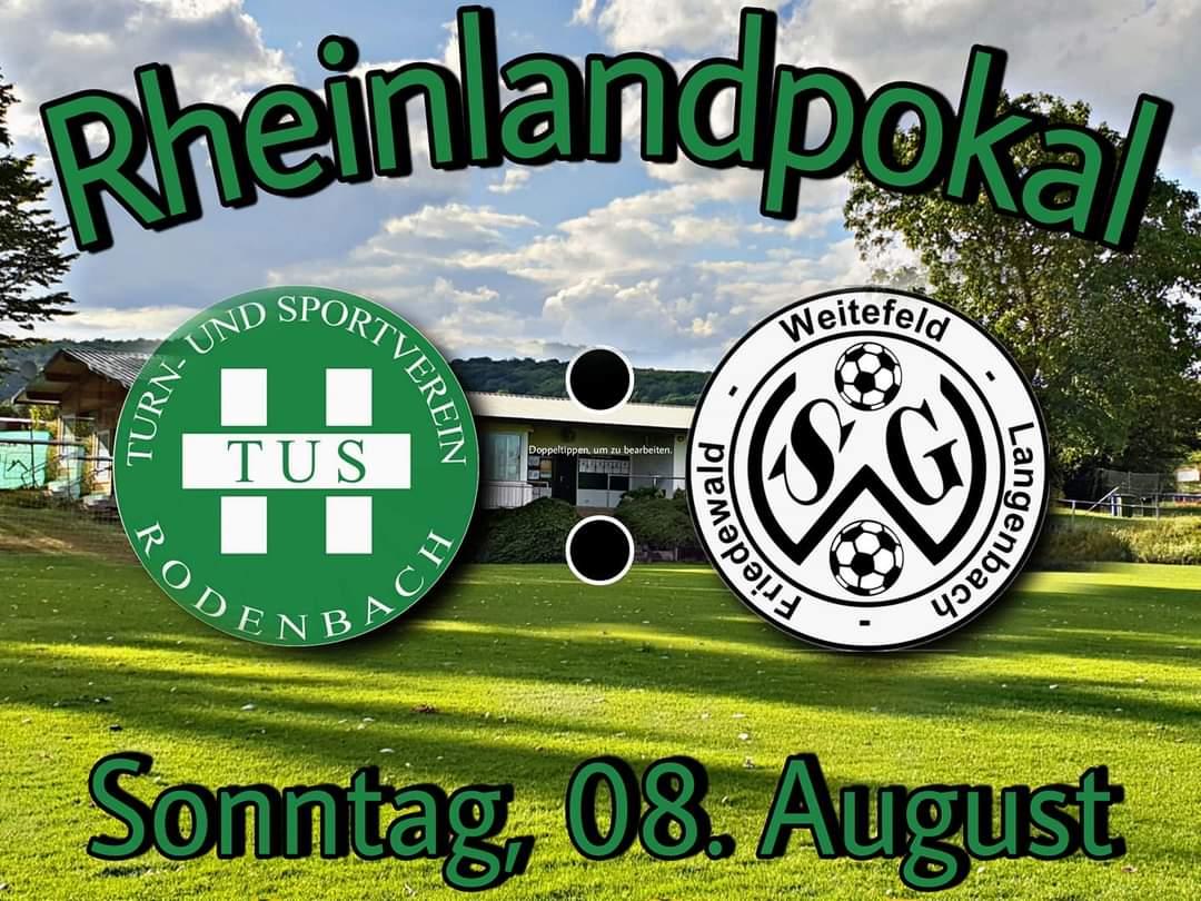 Rheinlandpokal auf der Alm